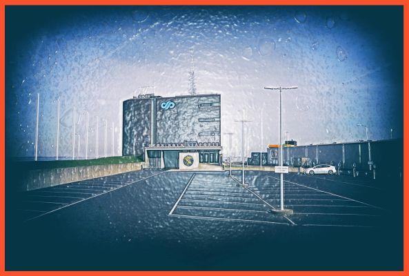 Paul Honigh, Gebouw Groningen Seaports 2